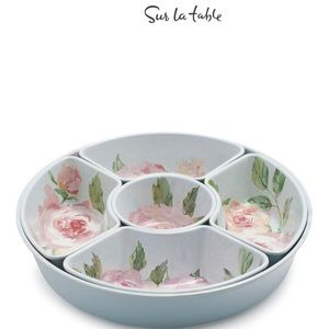 Sur La Table Rose Nuage 6 pc Melamine Set NEW